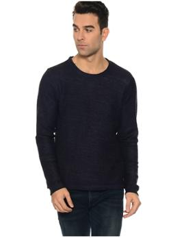 Jack & Jones Lacivert Sweatshirt