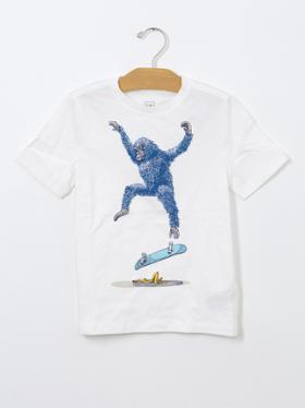Gap Grafik desenli t-shirt