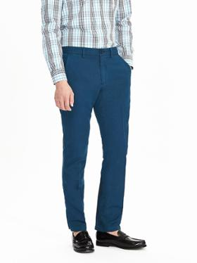 Banana Republic Aiden Slim keten pantolon