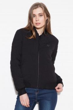 Fred Perry Quilted Tennis Bomber J5772 Siyah Mont