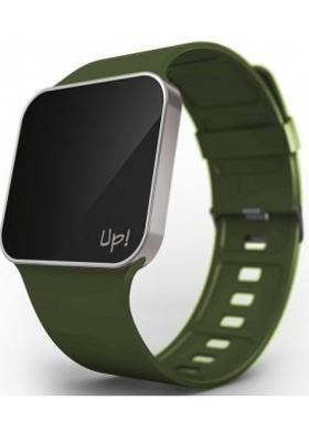 Up! Watch Upgrade Silver & Green