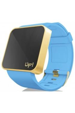 Up! Watch Upwatch Touch Shiny Gold&turquoise Unisex Kol Saati