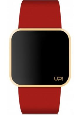 Up! Watch Upwatch Touch Shiny Gold&red Unisex Kol Saati