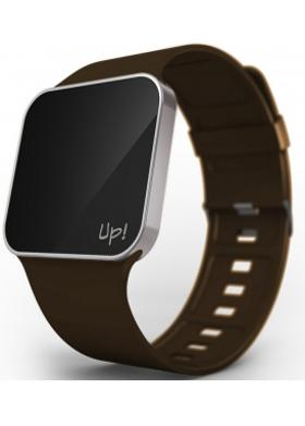 Up! Watch Upgrade Silver & Brown