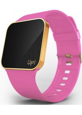 Up! Watch Upgrade Matte Gold & Fuchsia