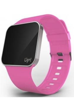 Up! Watch Upgrade Silver & Fuchsia