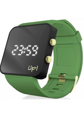 Up! Watch Upwatch Gblack&green Unisex Kol Saati
