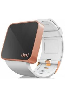 Up! Watch Upwatch Touch Shiny Rose&white Unisex Kol Saati