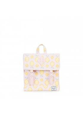 Herschel Survey Kids-Lemon Drop/Cloud Pink Rubber