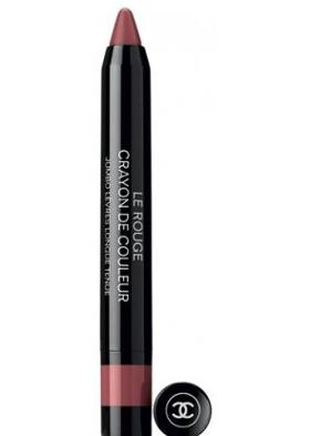 Chanel Le Rouge Crayon Couleur Rose Violine 2