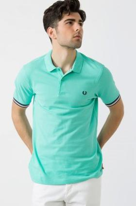 Fred Perry Striped Cuff Shirt Erkek Polo Tişört