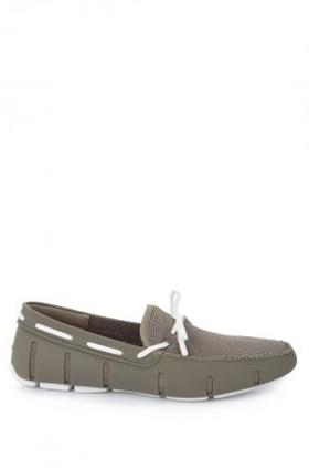 Swims Haki Beyaz Lace Loafer