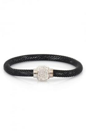 Aypen Accessories Black Shamballa Bileklik