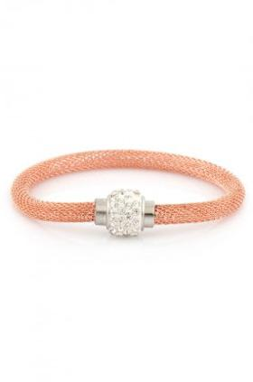 Aypen Accessories Rose Shamballa Bileklik