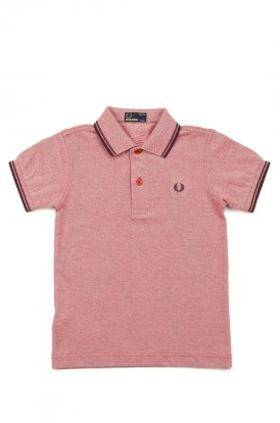Fred Perry Kids Twin Tipped Fred Perry Shirt