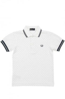 Fred Perry Polka Dot Pique Shirt