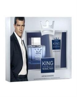 Antonio Banderas KingOf Seduction 100Ml Edt Erkek Parfüm Set