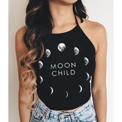 Köstebek Moon Child Halter Top