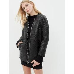 Koton Leather Look Jacket