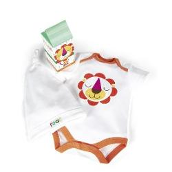 Mamas Papas Patternology Bodysuit hat lion