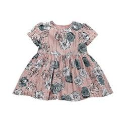 Mamas Papas M&P FLORAL WAISTED ELBİSE