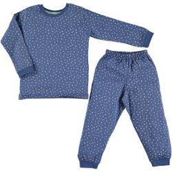 Baby Center Civil Girls Penye Pijama Takımı 2-6 Yaş İndigo