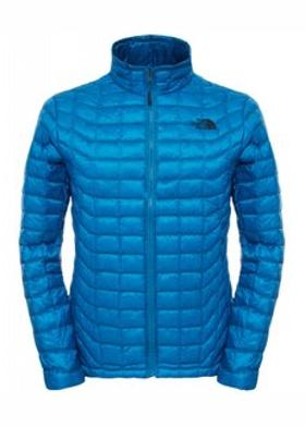 The North Face ThermoBall Erkek Fermuarlı Termal Mavi Mont