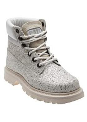 Caterpillar Colorado Iridescent Kadın Bot - White Glitter
