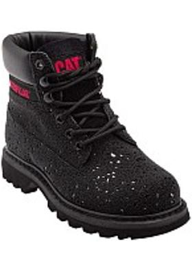 Caterpillar Colorado Iridescent Kadın Bot - Black Glitter