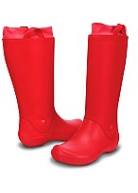 Crocs Rainfloe Boot - Red-Red