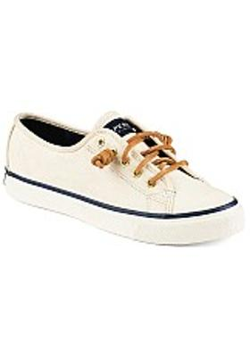 Sperry Seacoast Canvas - Ivory