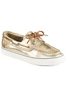 Sperry Bahama Metallic - Platin
