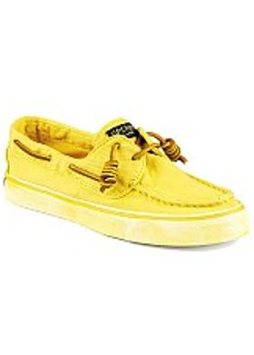Sperry Bahama 2-Eye Washed Kadın - Light Yellow