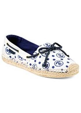 Sperry Katama - Ivory-Navy Anchor