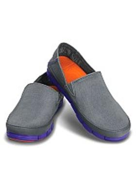 Crocs Stretch Sole Loafer Women - Charcoal-Ultraviolet