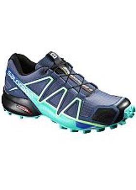 Salomon Speedcross 4 Kadın - Black-Black-Black Metallic
