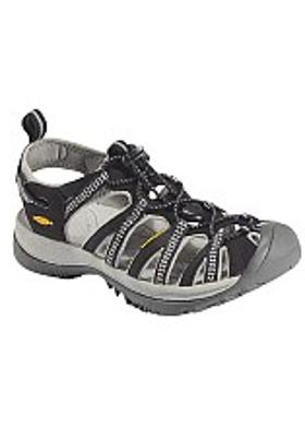 Keen Whisper Kadın Sandalet - Black-Neutral Gray