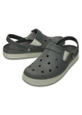 Crocs CitiLane Clog - Charcoal-Pearl White