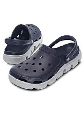 Crocs Duet Sport Clog - Navy-Light Grey