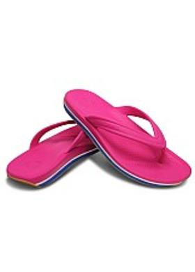Crocs Retro Flip - Fuchsia-Sea Blue