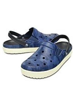 Crocs CitiLane Topographical Clog - Bijou Blue-White