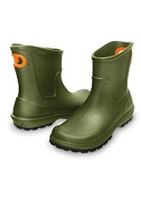 Crocs Wellie Rain Boot Men - Army Green