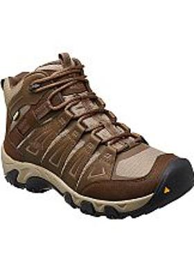 Keen Oakridge Mid WP Erkek Bot - Cascade Brown-Brindle