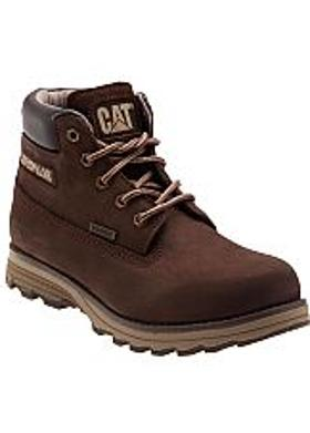Caterpillar Founder Waterproof Erkek Bot - Brown (Nubuk)