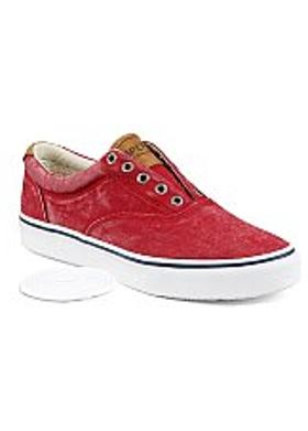Sperry Salt Washed Twill Striper CVO - Chili Red