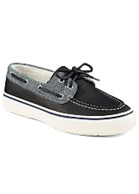 Sperry Bahama Fleck Canvas 2-Eye - Grey-Black