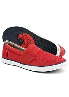 Sperry Low Pro Vulc Slip-On - Red Canvas