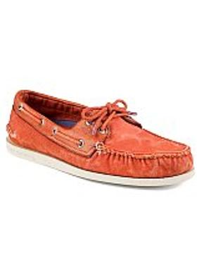 Sperry A/O Wedge Canvas - Red