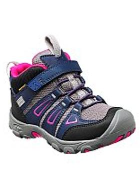 Keen Oakridge Mid Waterproof Çocuk Bot - Dress Blue-Very Berry