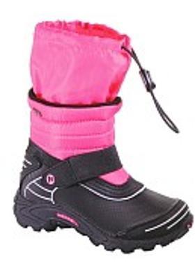 Merrell Moab Arctic Waterproof Kids' - Black-Pink